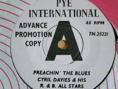 Nicky Hopkins second single with Cyril Davies