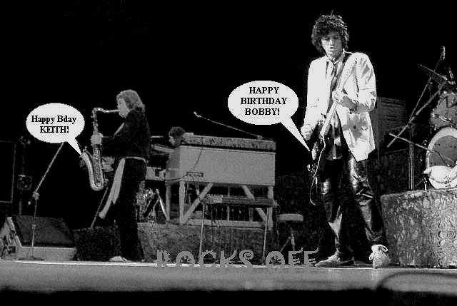 Happy birthday Bobby and Keef!!