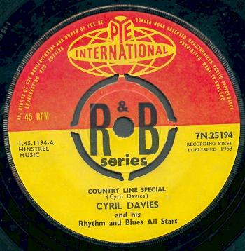 Nicky Hopkins first single with Cyril Davies